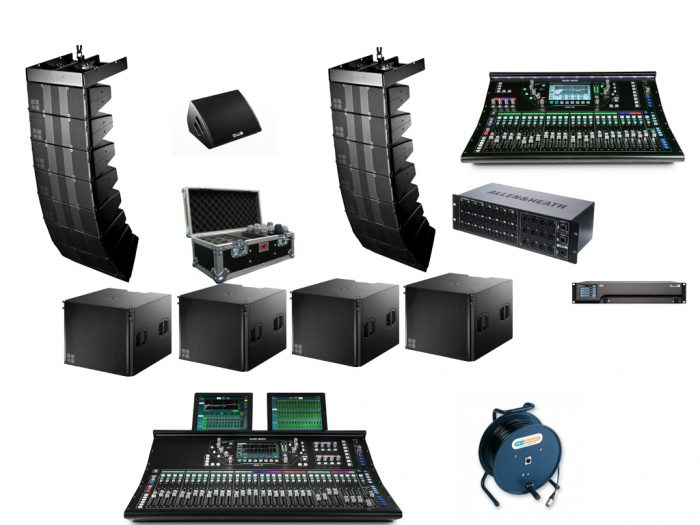 T Series Array Band Hire For PA Hire Website - No Text